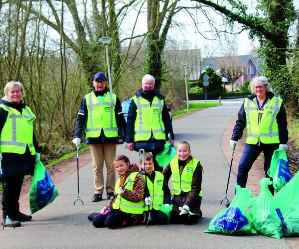 Actie houdt Nederland schoon
