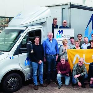 Steun voor zieke collega<br />'Machinefabriek Westerhof 'stapt en trapt ALS de wereld uit' door deel te nemen aan 'Tour du ALS'