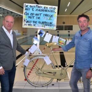 Marc Wisseborn van 'zwemwater' naar de fietsen van 'Fietz'