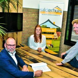 Oprichter Leo Silderhuis stopt: <br />Makelaardij Silderhuis nu volledig in handen van Tim Peters
