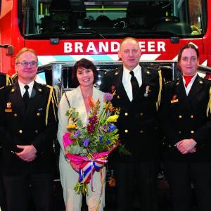 Koninklijke onderscheiding en afscheid van brandweervrijwilliger Ootmarsum