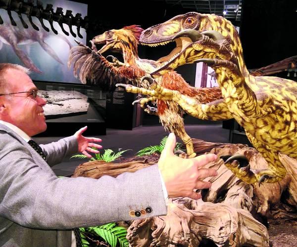 Woensdag 29 september a.s.:  Derde lezing Museum Natura Docet: 'Eric of het groot fossielenkabinet: soortrijkdom in dinotijd'