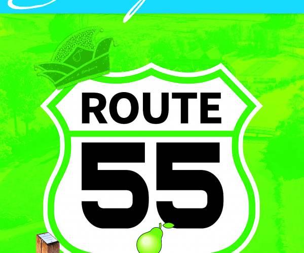 Route 55, nieuwe wandelroute over het Singraven