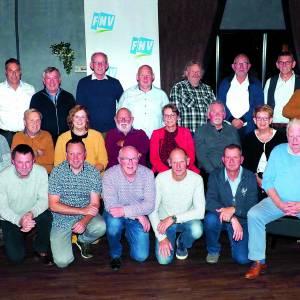 Jubilarissen FNV Noordoost-Twente gehuldigd