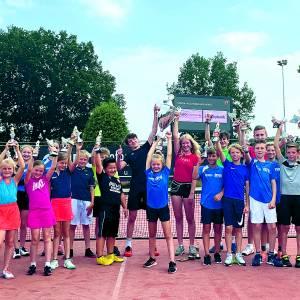 Jeugdclubkampioenschappen Tennisvereniging Denekamp groot succes!