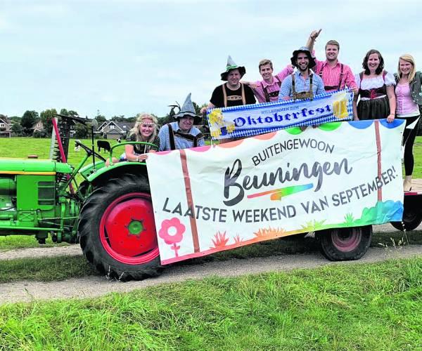 Komend weekend:  Heel Beuningen gaat weer 'buitengewoon' haar  traditionele Dorpsfeest vieren