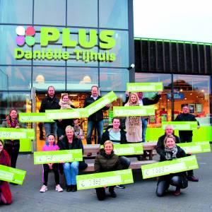 UD Weerselo krijgt hoogste bedrag sponsoractie Plus Daniëlle Tijhuis