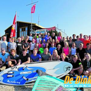 De Dinkel Denekamp start seizoen in open water