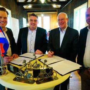 Subsidie voor cultuurhistorische route die Denekamp en Nordhorn met elkaar verbindt