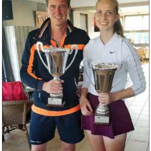Iris Scherphof & René Snijders Clubkampioenen TVD