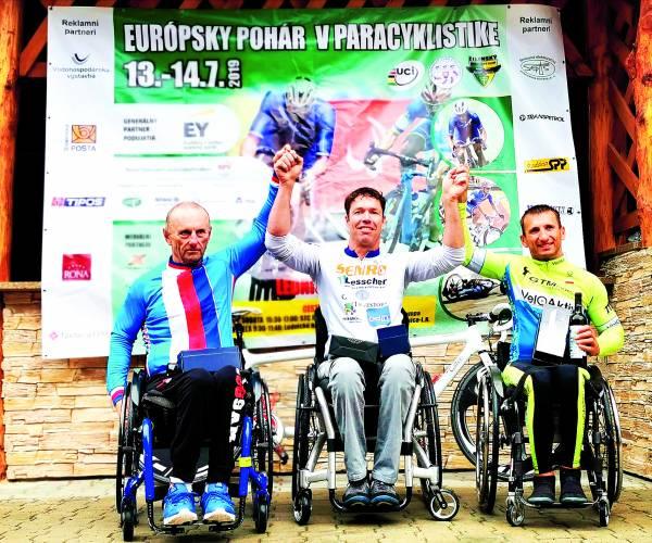 Mark Mekenkamp wint in Slowakije tijdrit