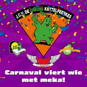 Carnavalsvlag voor heel 'N Dorp, #Carnavalviertwiemetmeka!