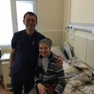 M.S. behandeling Sylvia Ensing in Moskou geslaagd: een soort 'wedergeboorte'!