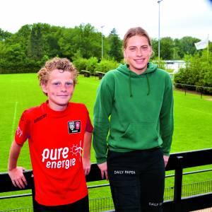 Met Lotte en Niel vertrekken weer twee SDC'12 spelers naar selecties FC Twente