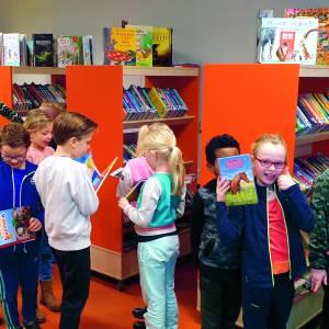 Kingschool heeft nu 'bibliotheek op school'