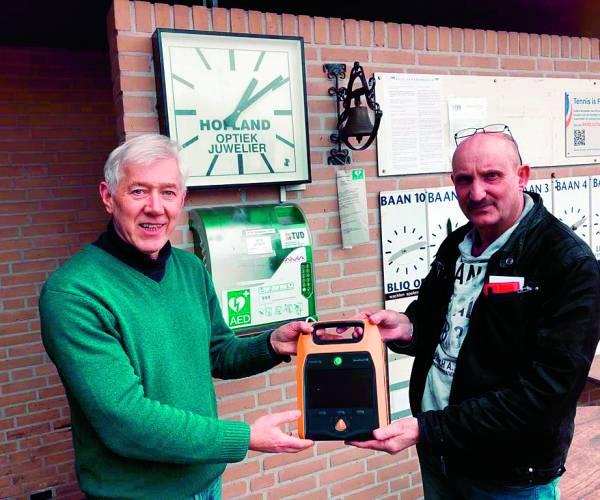 Nieuwe AED Tennis Vereniging Denekamp