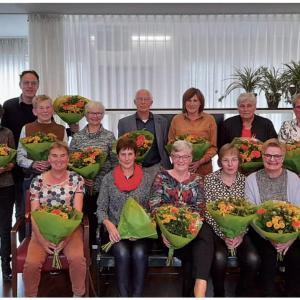 Jubilarissen in het zonnetje gezet bij zorgcentrum Sint Jozef Weerselo