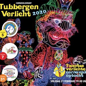 Twentse Verlichte Carnavalsoptocht in Tubbergen
