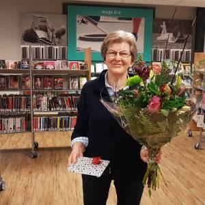 Bibliotheek Dinkelland<br />50-jarig jubileum Riet Rikkink