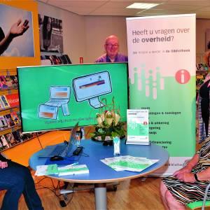 In Bibliotheek Dinkelland nu ook Informatiepunt Digitale Overheid