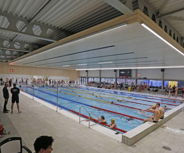 Eerste clubkampioenschappen in nieuwe bad bijzonder succesrijk