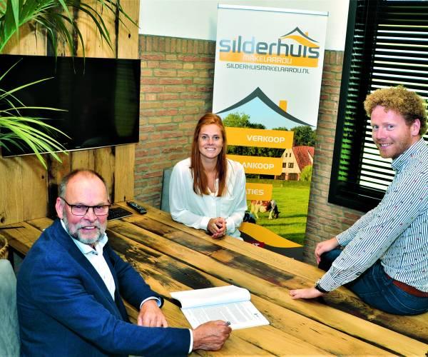 Oprichter Leo Silderhuis stopt:  Makelaardij Silderhuis nu volledig in handen van Tim Peters