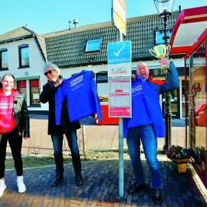 Buschauffeurs Twente ontvangen Rookvrije Generatie Award