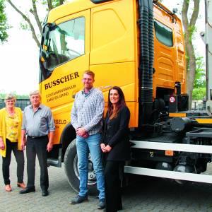 Overname Busscher Transport & Containerverhuur B.V. door Nijhoff Handel en Transport B.V. uit Nijverdal
