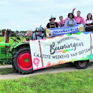 Komend weekend: <br />Heel Beuningen gaat weer 'buitengewoon' haar  traditionele Dorpsfeest vieren
