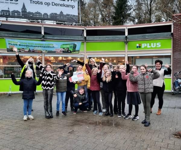 Succesvolle inzamelingsactie basisschool De Veldkamp