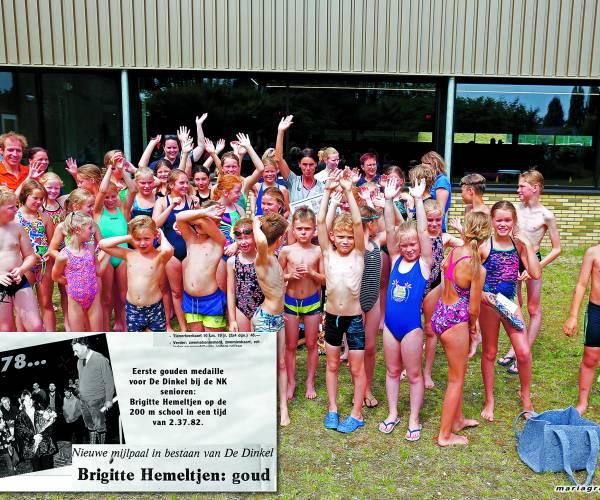 Brigitte hemeltjen: al decennialang dinkelgoud Voorbeeldige zwemtopper neemt afscheid