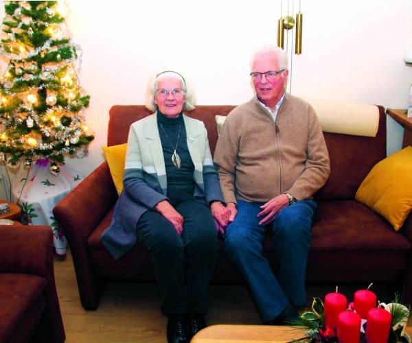 Wim Zomer en Ali Evers uit Deurningen  60 jaar getrouwd  Het was liefde op het eerste gezicht