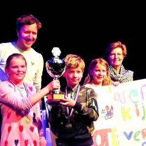 Mariaschool Beuningen winnaar Grote Verkeersquiz Losser 2019