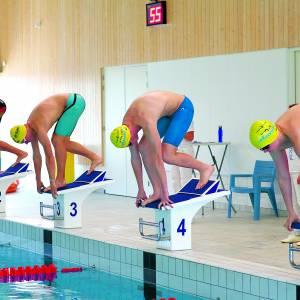Maar liefst 42 persoonlijke records gezwommen in derde coronawedstrijd De Dinkel