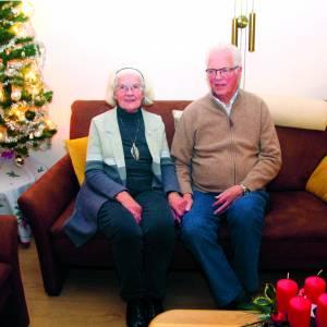Wim Zomer en Ali Evers uit Deurningen <br />60 jaar getrouwd <br />Het was liefde op het eerste gezicht
