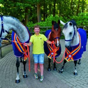 Lattropper Jesse Berkers drie keer kampioen tijdens Overijssels Kampioenschap springen