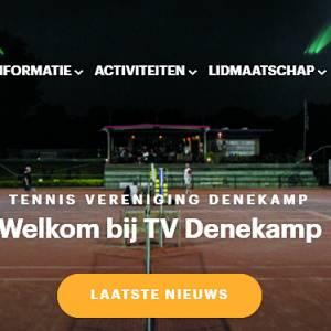 Programma Tennis Vereniging Denekamp