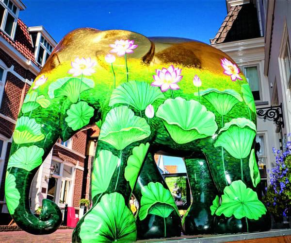 Opnieuw openluchttentoonstelling 'Elephant Parade' en dan met meer spreiding door de gehele NO Twentse regio