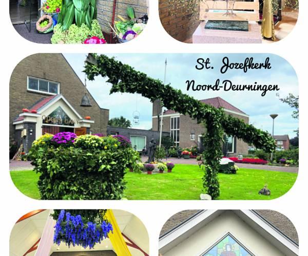 Oogst- en Dankfeest in en om St. Jozefkerk Noord-Deurningen